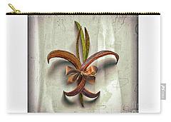 Composite Fleur-de-lis Of Oleander Carry-all Pouch