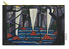 Composition No. 23 Carry-all Pouch by Jacoba van Heemskerck