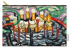 Composition No.62 Carry-all Pouch by Jacoba van Heemskerck
