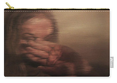 Carry-all Pouch featuring the painting Concealed by Cherise Foster