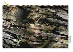 Concealed Emotions Carry-all Pouch by Tlynn Brentnall
