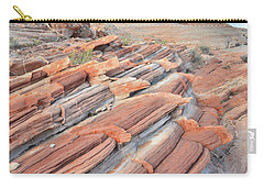 Concentric Circles Of Sandstone At Valley Of Fire Carry-all Pouch