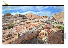 Concentric Color In Valley Of Fire Carry-all Pouch