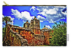 Concepcion Towers And Ruined Wall Carry-all Pouch