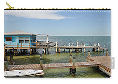 Conch Key Blue Cottage Carry-all Pouch