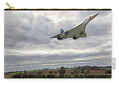 Concorde - High Speed Pass Carry-all Pouch by Paul Gulliver