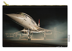 Concorde In The Mist Carry-all Pouch