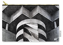 Concrete Geometry Carry-all Pouch by Paul Wilford