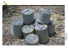 Concrete Rolls Carry-all Pouch by Suhas Tavkar
