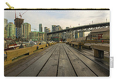Condominium Buildings Along Granville Island Vancouver Bc Carry-all Pouch