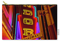Condor Neon On Broadway Carry-all Pouch