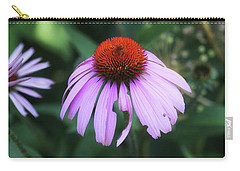 Cone Flower In Dow Gardens Carry-all Pouch by Mary Bedy