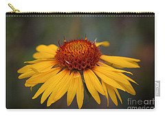 Cone Flower Carry-all Pouch by John Roberts