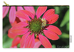 Coneflower Honeybee I Carry-all Pouch
