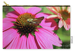 Coneflower Moth II Carry-all Pouch