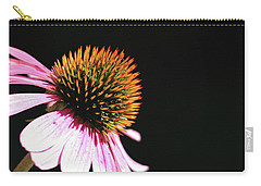 Carry-all Pouch featuring the photograph Coneflower by Trina Ansel