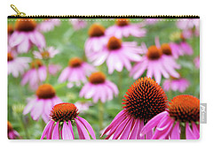 Carry-all Pouch featuring the photograph Coneflowers by David Chandler