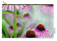 Coneflowers In The Mist Carry-all Pouch