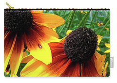 Carry-all Pouch featuring the photograph Coneflowers by Robert Knight