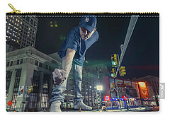 Carry-all Pouch featuring the photograph Coney Anyone? by Nicholas Grunas