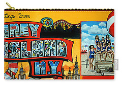 Coney Island New York Carry-all Pouch