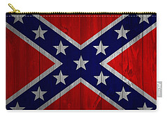 Confederate Flag Barn Door Carry-all Pouch