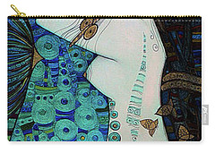 Confessions In Blue Carry-all Pouch