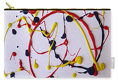 Confetti #1 Carry-all Pouch by Fred Wilson