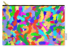 Confetti Carry-all Pouch by Denise Fulmer