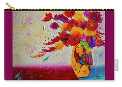 Confetti Carry-all Pouch by Nancy Jolley