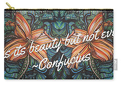 Confucius Beauty  Carry-all Pouch