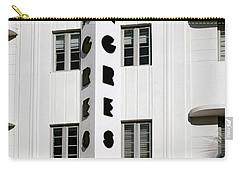 Congress Hotel. Miami. Fl. Usa Carry-all Pouch