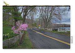 Carry-all Pouch featuring the photograph Connecticut Country Road by Bill Wakeley