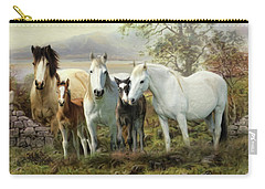Connemara Ponies Carry-all Pouch