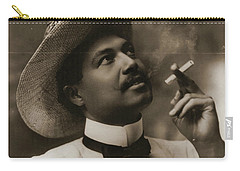 Carry-all Pouch featuring the photograph Connoisseur 1899 by Padre Art