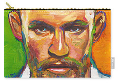 Carry-all Pouch featuring the painting Conor Mcgregor by Robert Phelps