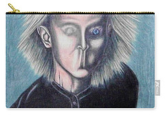 Carry-all Pouch featuring the drawing Consciousness by Michael  TMAD Finney