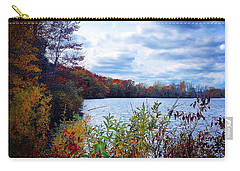 Conservation Park And Pine River In The Fall Carry-all Pouch