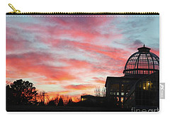 Conservatory At Sunset Carry-all Pouch