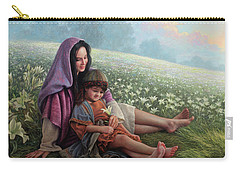 Consider The Lilies Carry-all Pouch by Greg Olsen