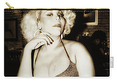 Carry-all Pouch featuring the photograph Consuela Del Rio. Drag Mother At The by Mr Photojimsf