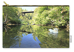 Carry-all Pouch featuring the photograph Consumed By The Light by Sean Sarsfield