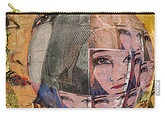 Contemplating Women - Through The Looking Glass Carry-all Pouch by Jeff Burgess