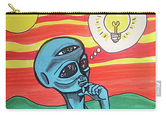 Contemplative Alien Carry-all Pouch