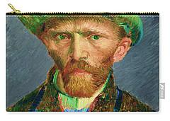 Contemporary 2 Van Gogh Carry-all Pouch by David Bridburg