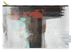 Contemporary Cross 1- Art By Linda Woods Carry-all Pouch