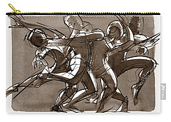 Contemporary Dance Quartet - Lucky Plush, Chicago Carry-all Pouch