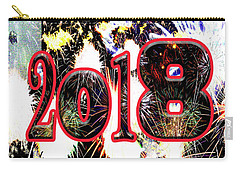 Contemporary Fireworks 2018 Cool Modern Art Carry-all Pouch