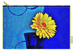 Carry-all Pouch featuring the photograph Contemporary Gerber by Marsha Heiken