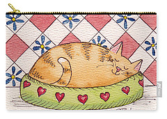 Contented Kitty Carry-all Pouch
